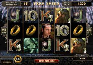 オンラインカジノのスロットマシン